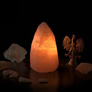 Солевая лампа кристалл, шлифованная