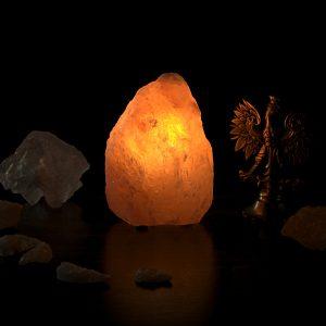 Солевая лампа кристалл, маленький